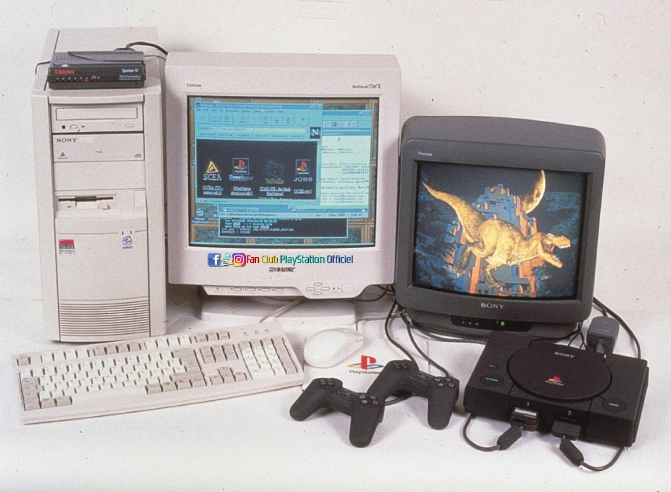 PS1 Net Yaroze + ordi dev