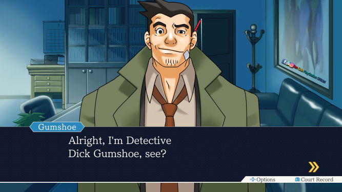 Le detéctive chiant