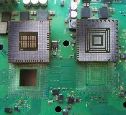 GPU et CPU Déssoudé