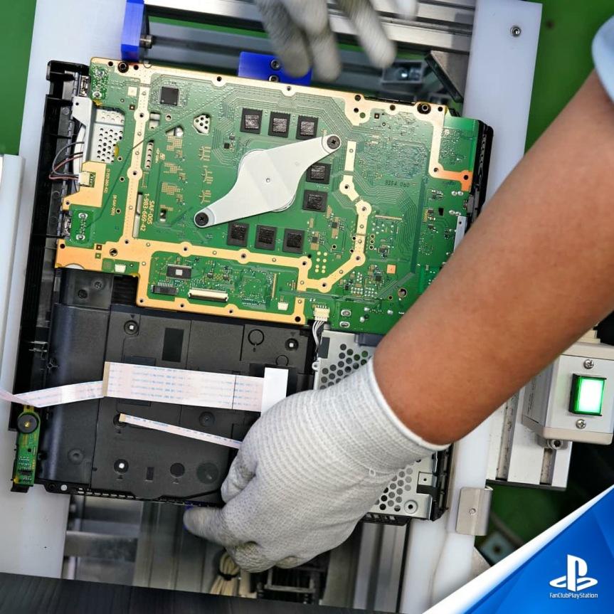 4 PS4 Mise en place sur la ligne